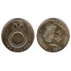 Islas Salomón. 2012. 2 Dollars (SC)