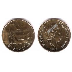 Islas Salomón. 2012. 1 Dollar (SC)