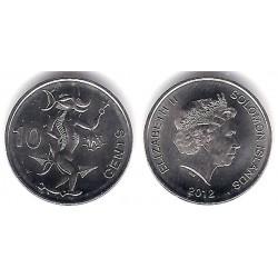 Islas Salomón. 2012. 10 Cents (SC)
