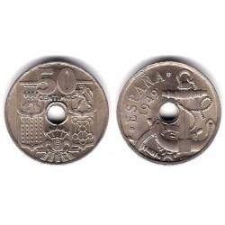 Estado Español. 1949*(19-52). 50 Céntimos (EBC+)