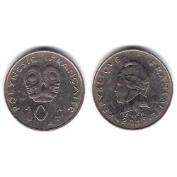 Polinesia Francesa. 2015. 10 Francs (MBC)