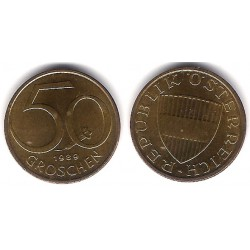 (2885) Austria. 1989. 50 Groschen (SC)