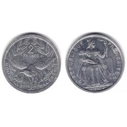 (14) Nueva Caledonia. 1983. 2 Francs (SC)