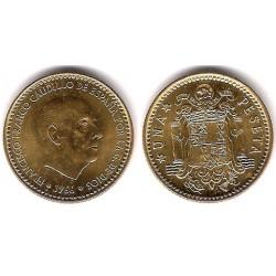 Estado Español. 1966*(19-75). 1 Peseta (SC)
