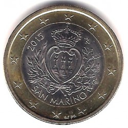 San Marino. 2015. 1 Euro (SC)