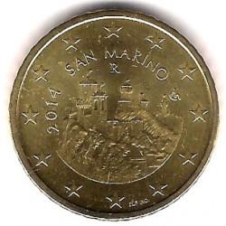 San Marino. 2014. 50 Céntimos (SC)