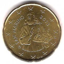 San Marino. 2013. 20 Céntimos (SC)