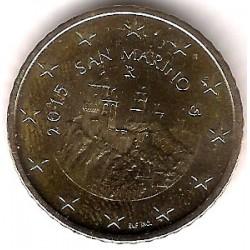 San Marino. 2015. 50 Céntimos (SC)