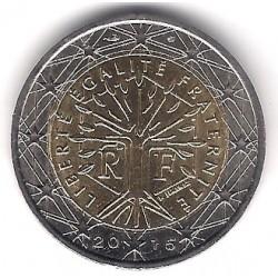 Francia. 2015. 2 Euro (SC)