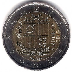 Andorra. 2015. 2 Euro (SC)