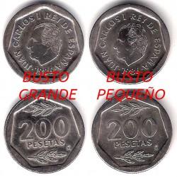 España. 1986. 200 Pesetas (EBC) Busto Grande
