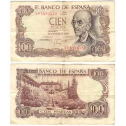 Estado Español. 1970. 100 Pesetas (BC) Serie 7V