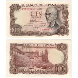 Estado Español. 1970. 100 Pesetas (SC) Serie 3X