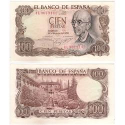 Estado Español. 1970. 100 Pesetas (SC) Serie 4L