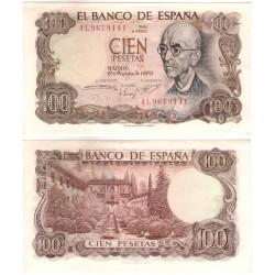 Estado Español. 1970. 100 Pesetas (EBC+) Serie 4L