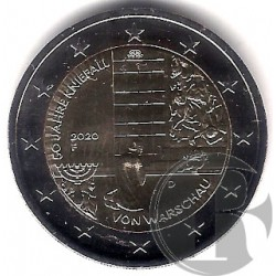 Alemania. 2020(G). 2 Euro (SC)