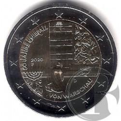 Alemania. 2020(F). 2 Euro (SC)