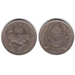 (5) Botswana. 1989. 10 Thebe (BC+)