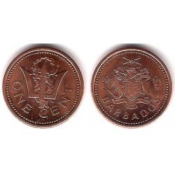 (10) Barbados. 1991. 1 Cent (SC)