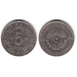 (114) Algeria. 1984. 5 Dinars (BC+)