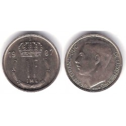 (63) Luxemburgo. 1987. 1 Franc (MBC)