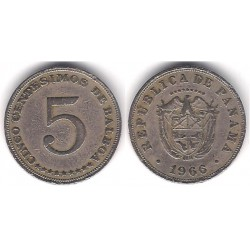 (23.2) Panamá. 1966. 5 Centesimos (BC+)
