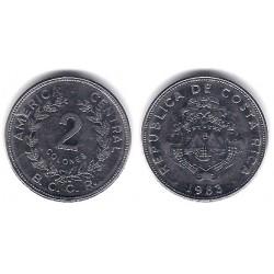 (211.2) Costa Rica. 1983. 2 Colones (EBC)