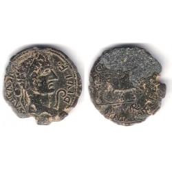 Caesar Augusta (Zaragoza). 27a.C.-14d.C. As (BC)