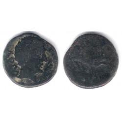 Conterbia Carbica (Cuenca). 120-80a.C. As (BC)