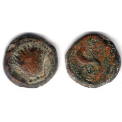 Arse (Sagunto). 100-30 a.C. Cuadrante (BC)