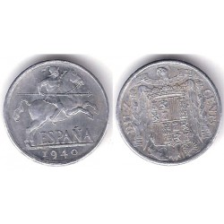 Estado Español. 1940. 10 Céntimos (MBC)