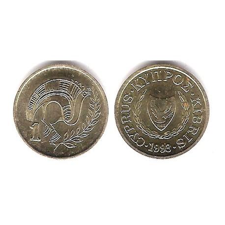 (53.3) Chipre. 1993. 1 Cent (SC)