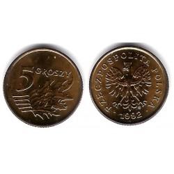 (Y278) Polonia. 1992. 5 Groszy (SC)