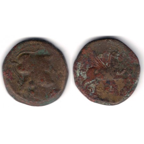 Unticescen (L'Escala). 130-90 a.C. As (BC)
