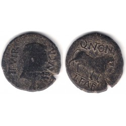 Calagurris (Calahorra). 27a.C.-14d.C. As (BC)