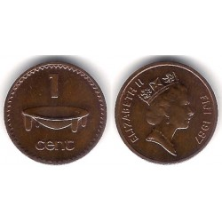 (49a) Islas Fiji. 1987. 1 Cent (SC)