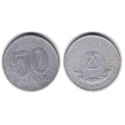 (12.2) Alemania Democrática. 1958(A). 50 Pfennig (BC)