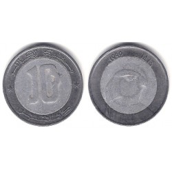 (124) Algeria. 1999. 10 Dinars (BC)