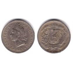 (18) República Dominicana. 1961. 5 Centavos (MBC+)