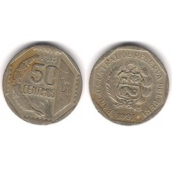 (309.1) Perú. 1991. 50 Céntimos (MBC+)