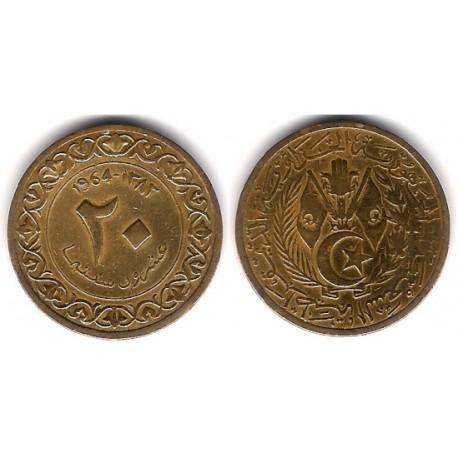 (98) Algeria. 1964. 20 Centimes (MBC)