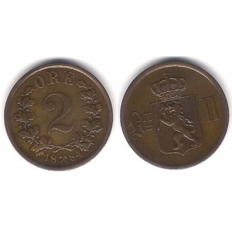 (353) Noruega. 1884. 2 Ore (MBC+)