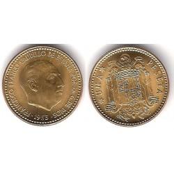 Estado Español. 1953*(19-56). 1 Peseta (SC)