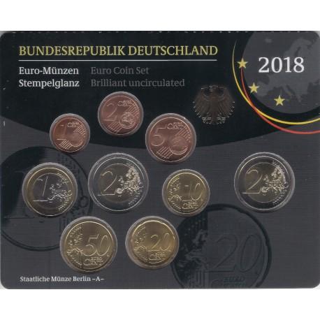 Alemania. 2018(A). Cartera Oficial (SC)