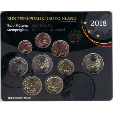Alemania. 2018(J). Cartera Oficial (SC)
