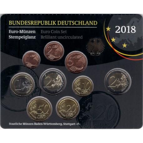 Alemania. 2018(F). Cartera Oficial (SC)