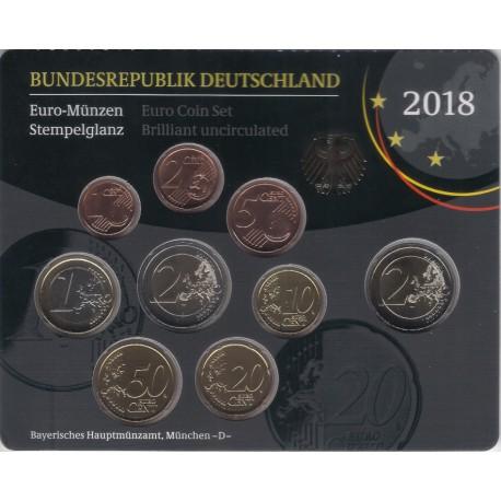 Alemania. 2018(D). Cartera Oficial (SC)