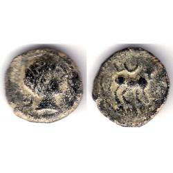 Cástulo (Cazlona, Jaen). 50 a.C. Semis (MBC)