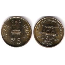 (397) India. 2011. 5 Rupees (SC)