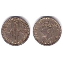 (166) Rhodesia del Sur. 1947. 3 Pence (MBC)